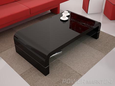 design couchtisch hybris schwarz hochglanz glas tisch ebay. Black Bedroom Furniture Sets. Home Design Ideas